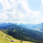 Amazing view from 1600m hiking austria