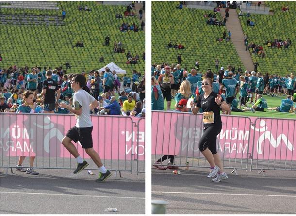 Christina and Mo running