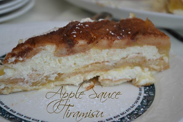 Apple Sauce Tiramisu