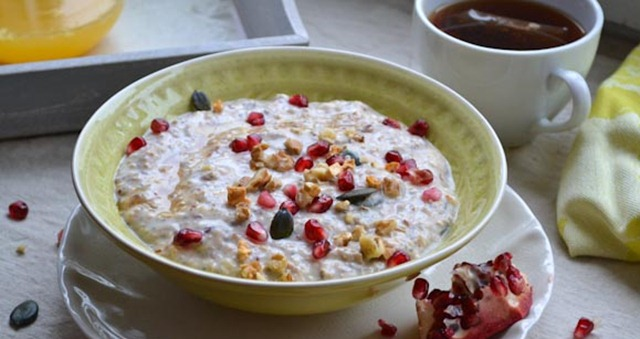 Overnight Muesli from healthinspirations.net