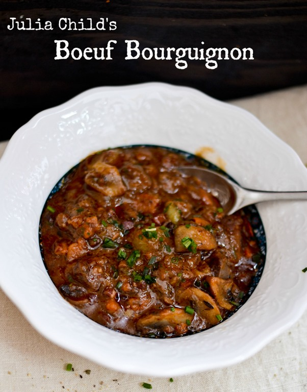 did it. I made Boeuf Bourguignon. But not any Boeuf Bourguignon ...