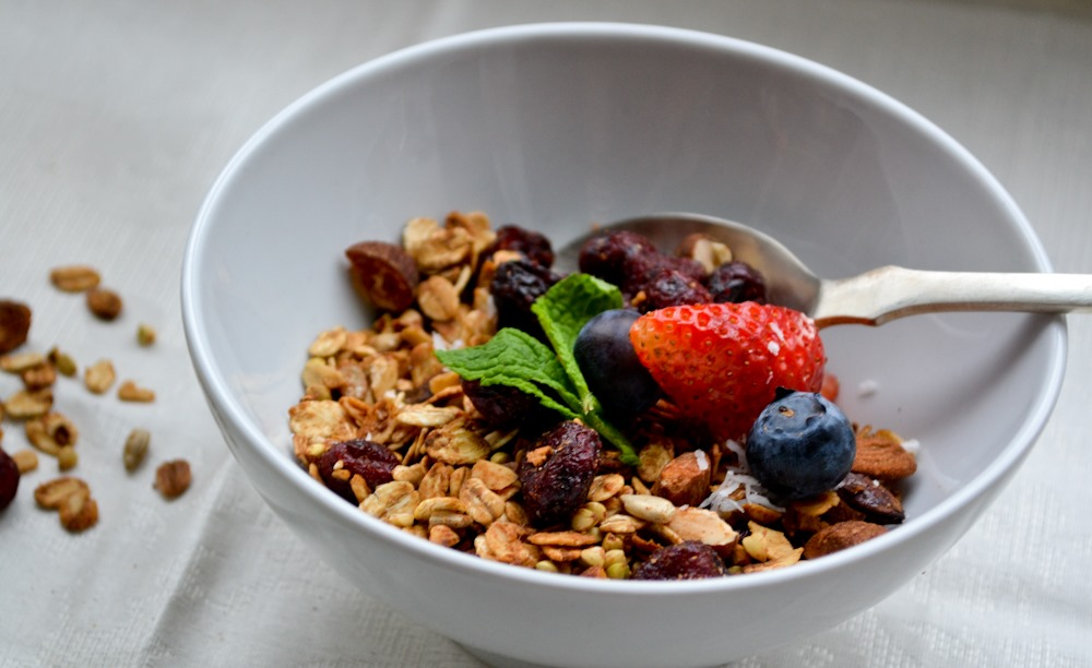 Almond-Cranberry Granola – Health Inspirations