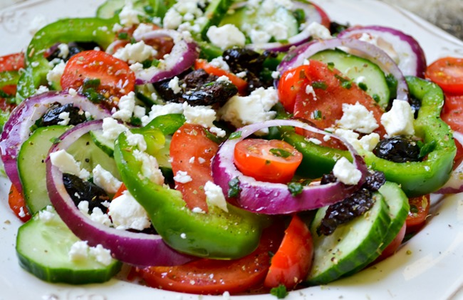 Greek Salad healthinspirations.net