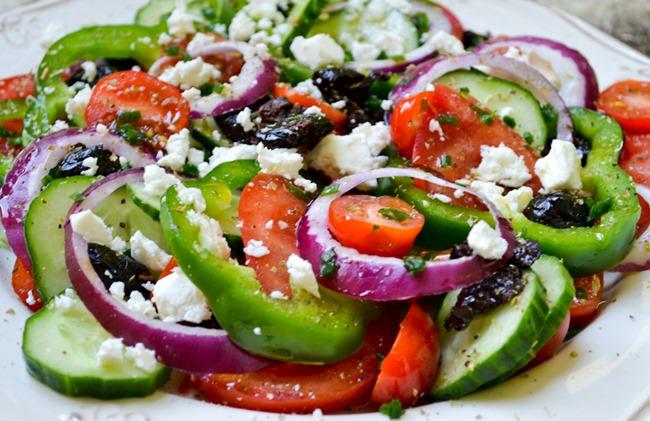 Greek Salad healthinspirations.net