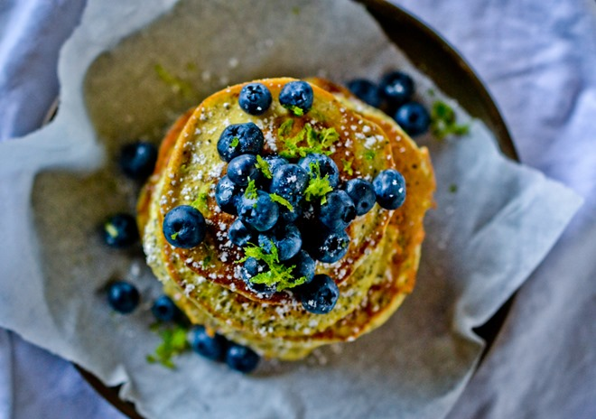 Lime Poppy Seed Pancakes3