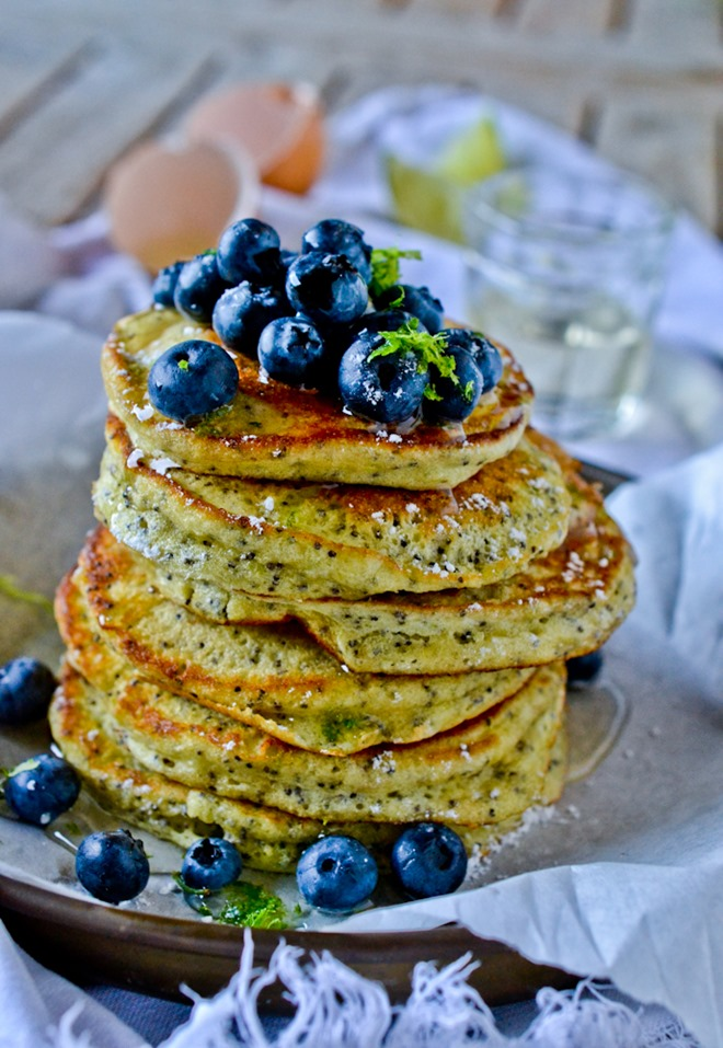 Lime Poppy Seed Pancakes8