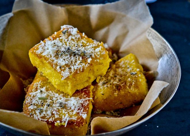 Parmesan Polenta Squares with Sage Salt11