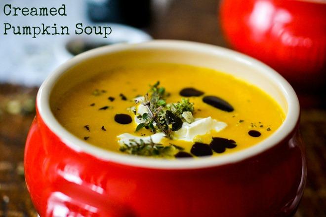 Creamed Pumpkin Soup