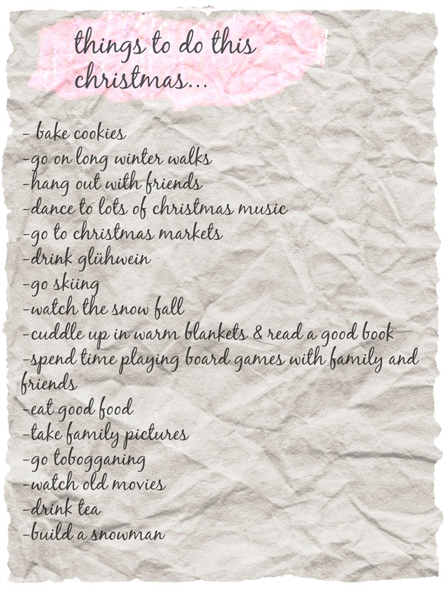 things to do this christmas – Health Inspirations
