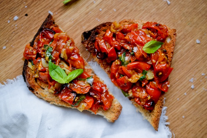 Lunch Tartines {2 Recipes}
