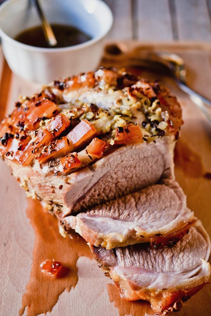 Schweinsbraten- Austrian Pork Roast {healthinspirations.net}