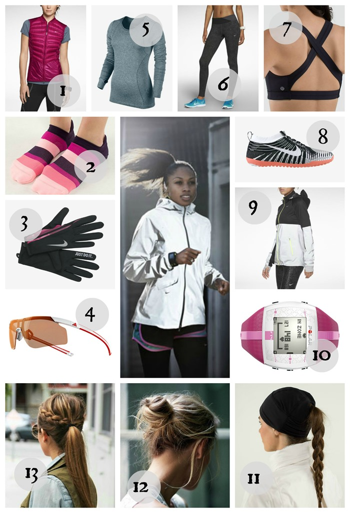 Sweat in Style - Winter Running {healthinspirations.net}