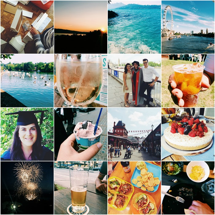 July in Instagrams