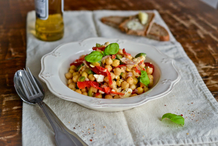 Chickpea Salad | Health Inspirations