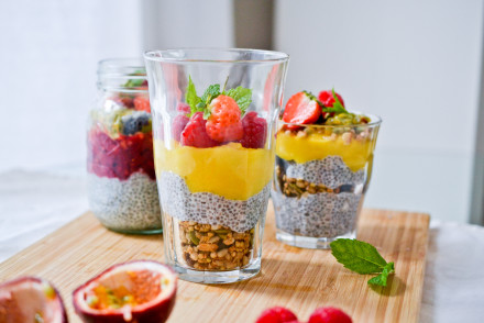 Chia Pudding Parfait | Health Inspirations