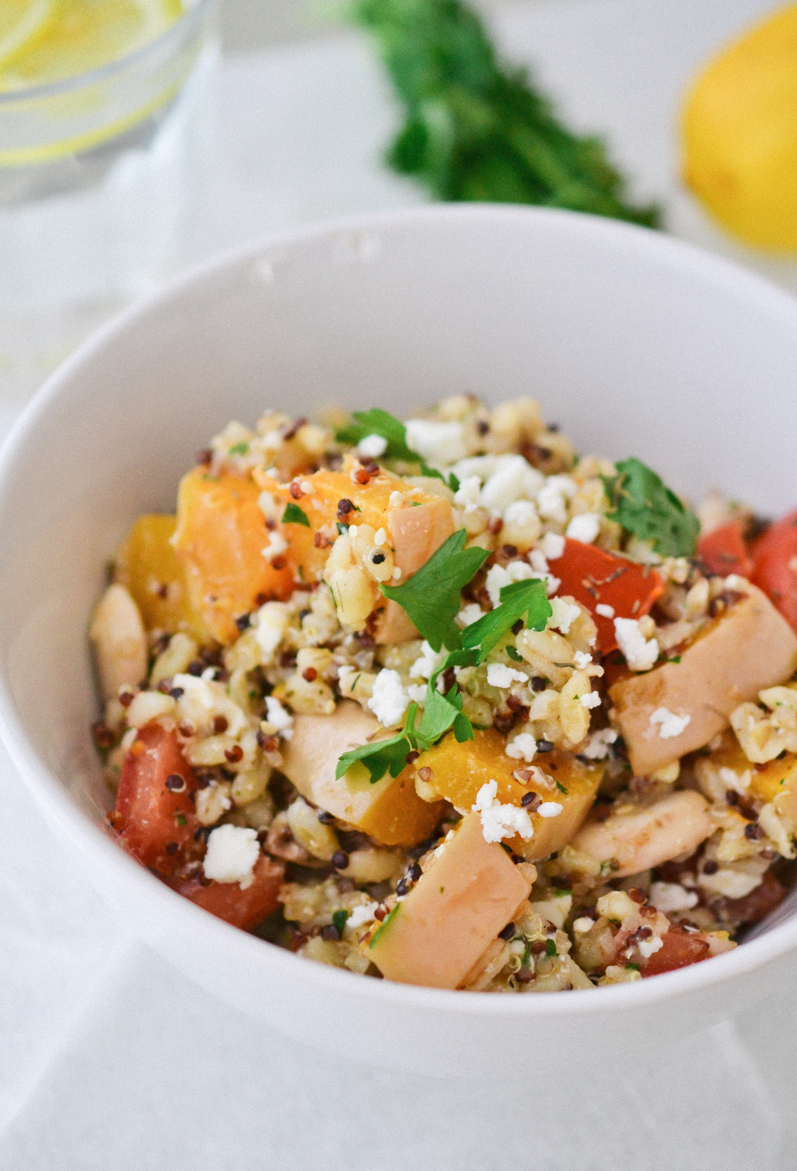 Wheatberry Quinoa Salad | Health Inspirations