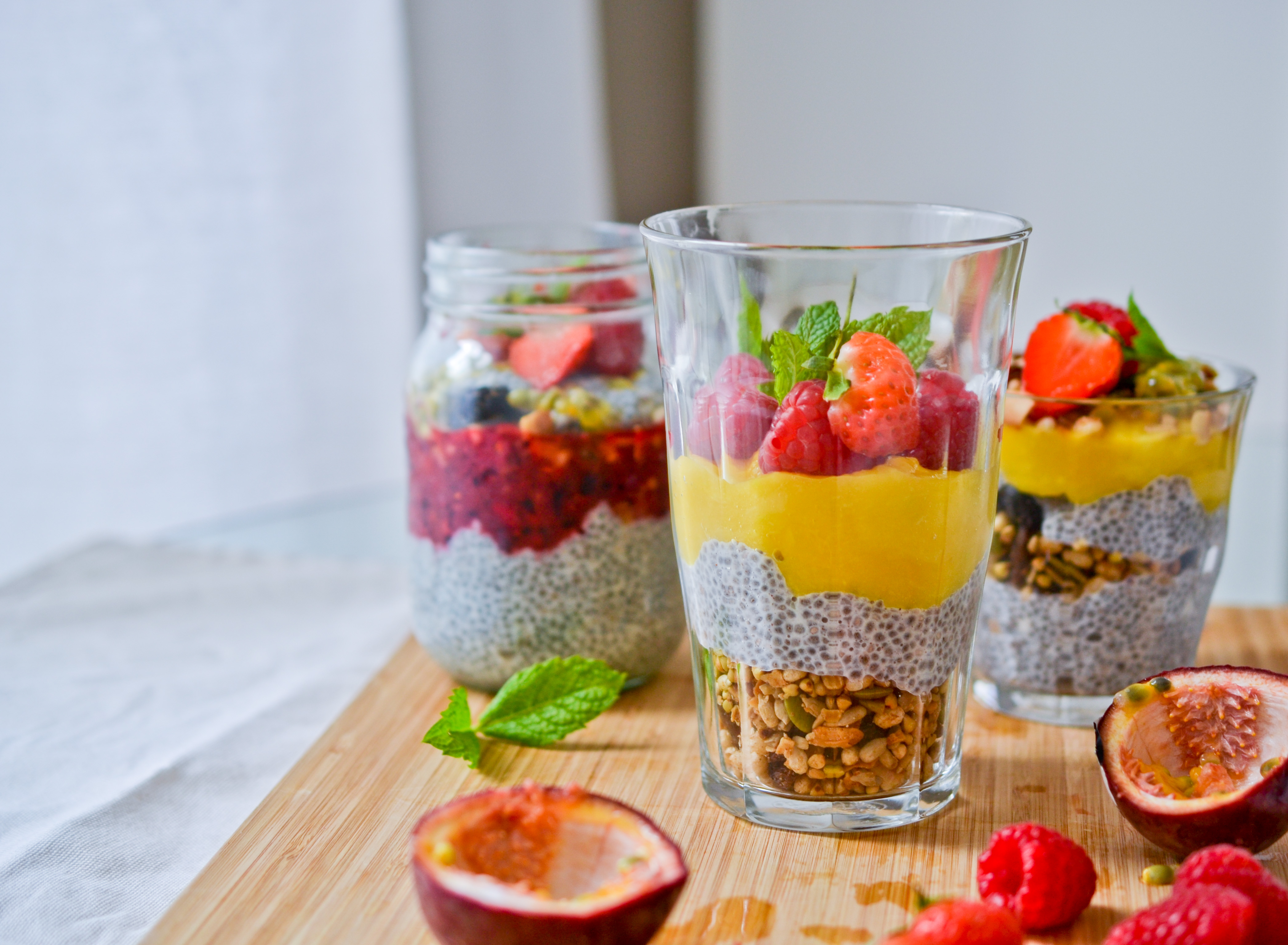Chia Pudding Parfaits |Health Inspirations