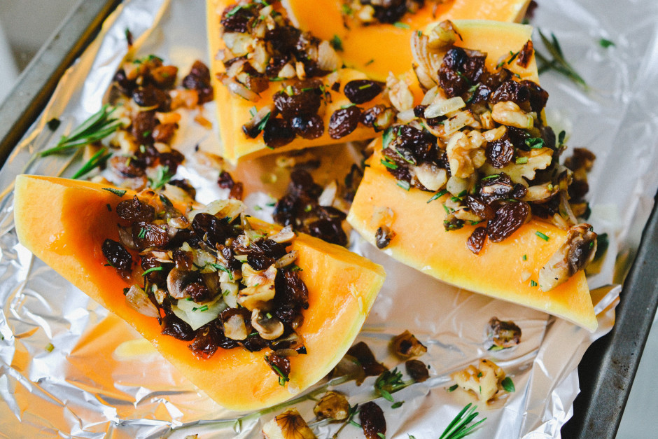 Filled Butternut Squash | Health Inspirations
