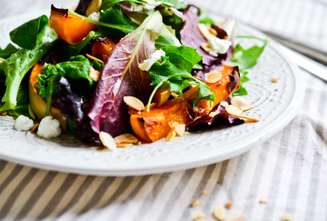 Maple Glazed Butternut Squash Salad | Health Inspirations