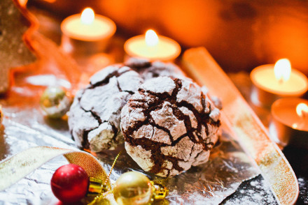 Chocolate Crinkle Cookies | Health Inspirations