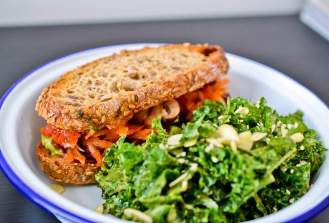 Veggie Sandwich | Health Inspirations