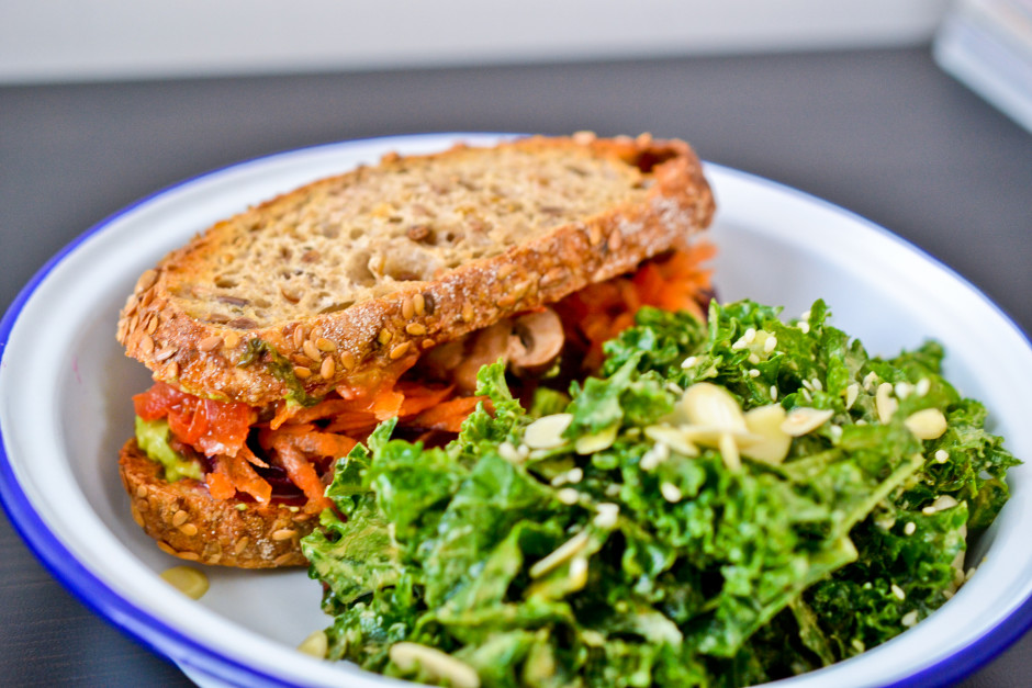 Veggie Sandwich | Health Inspirations