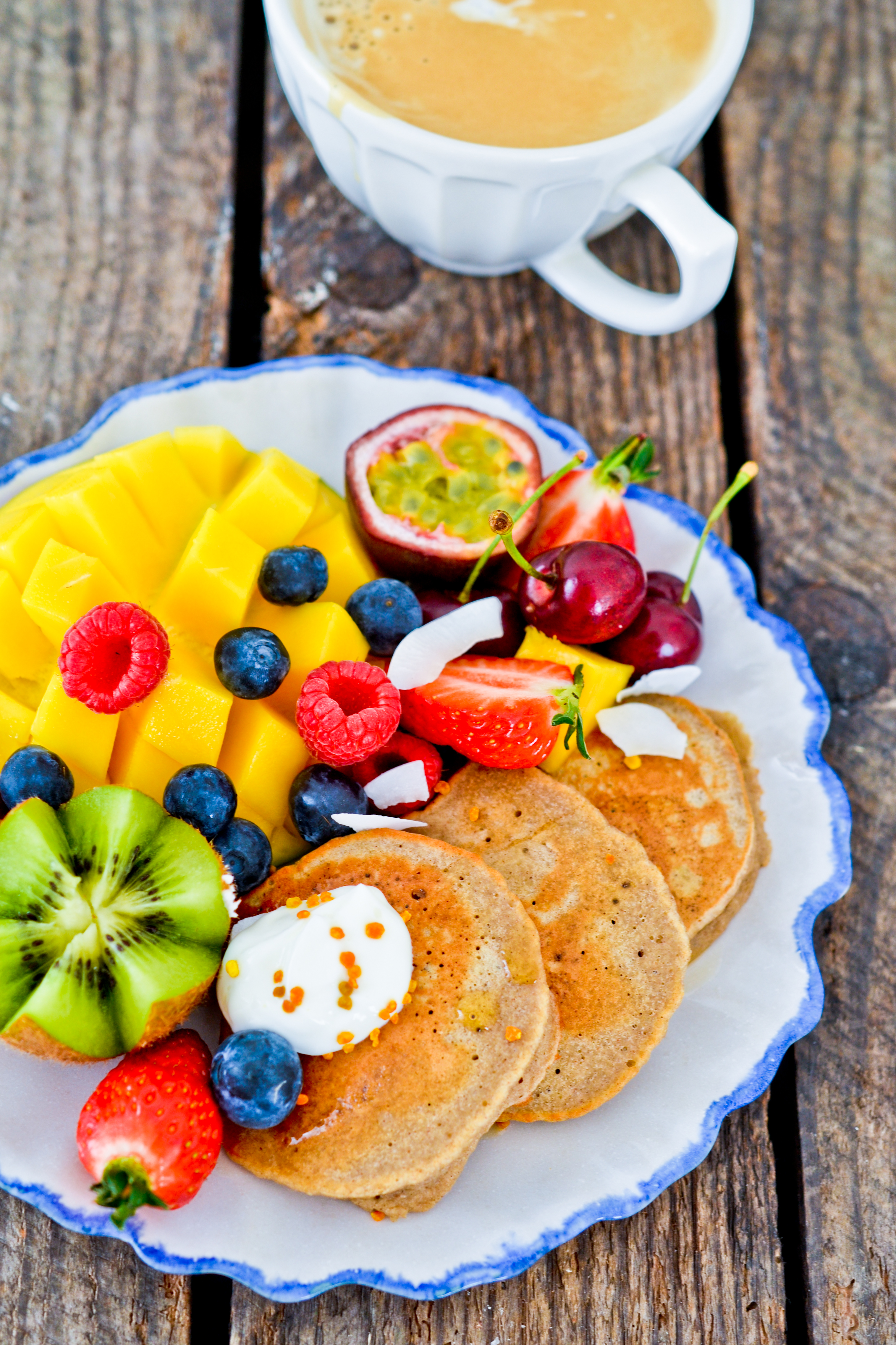 Teff flour pancakes   Health Inspirations