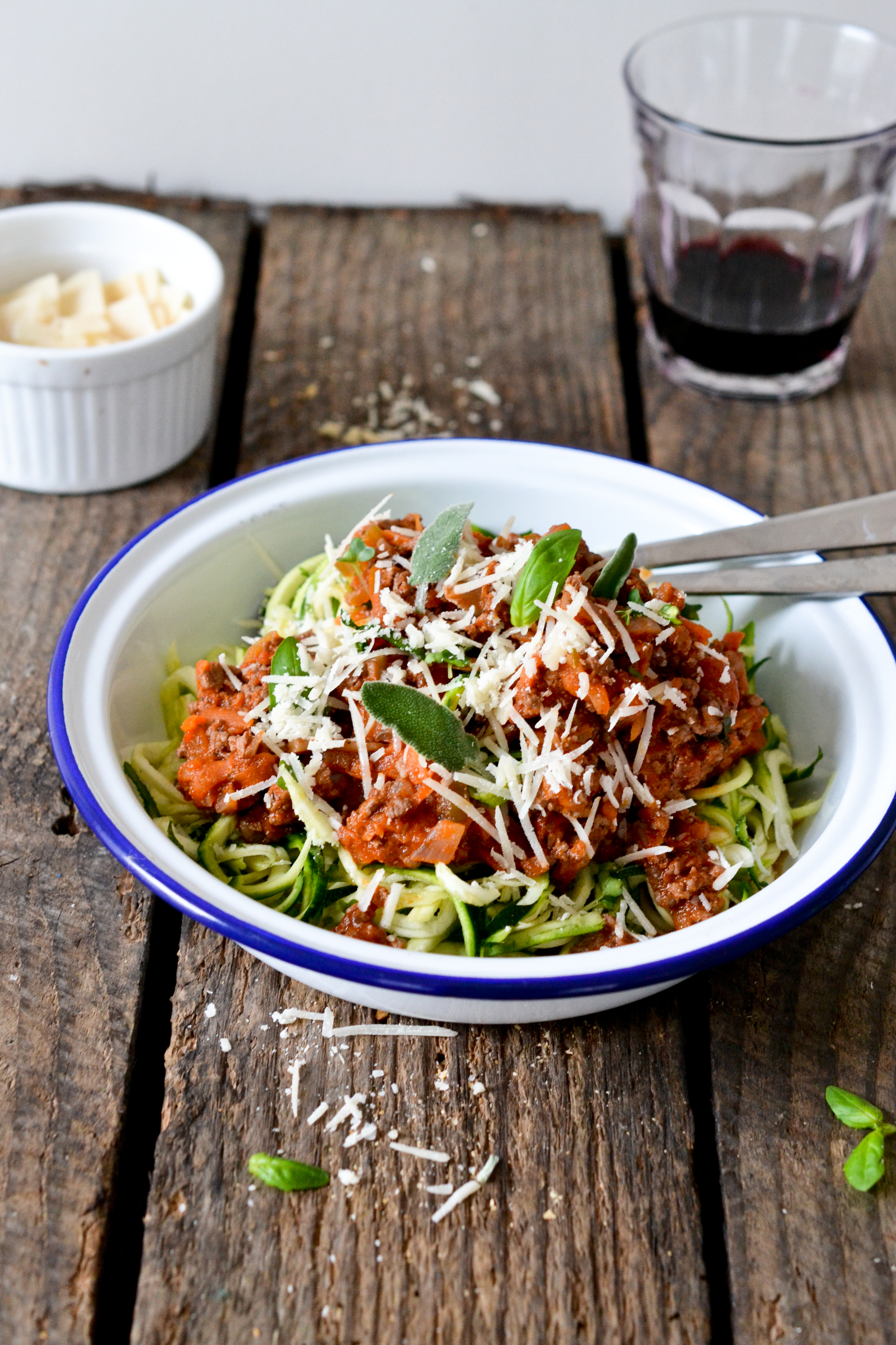 Courgetti Bolognese Health Inspirations
