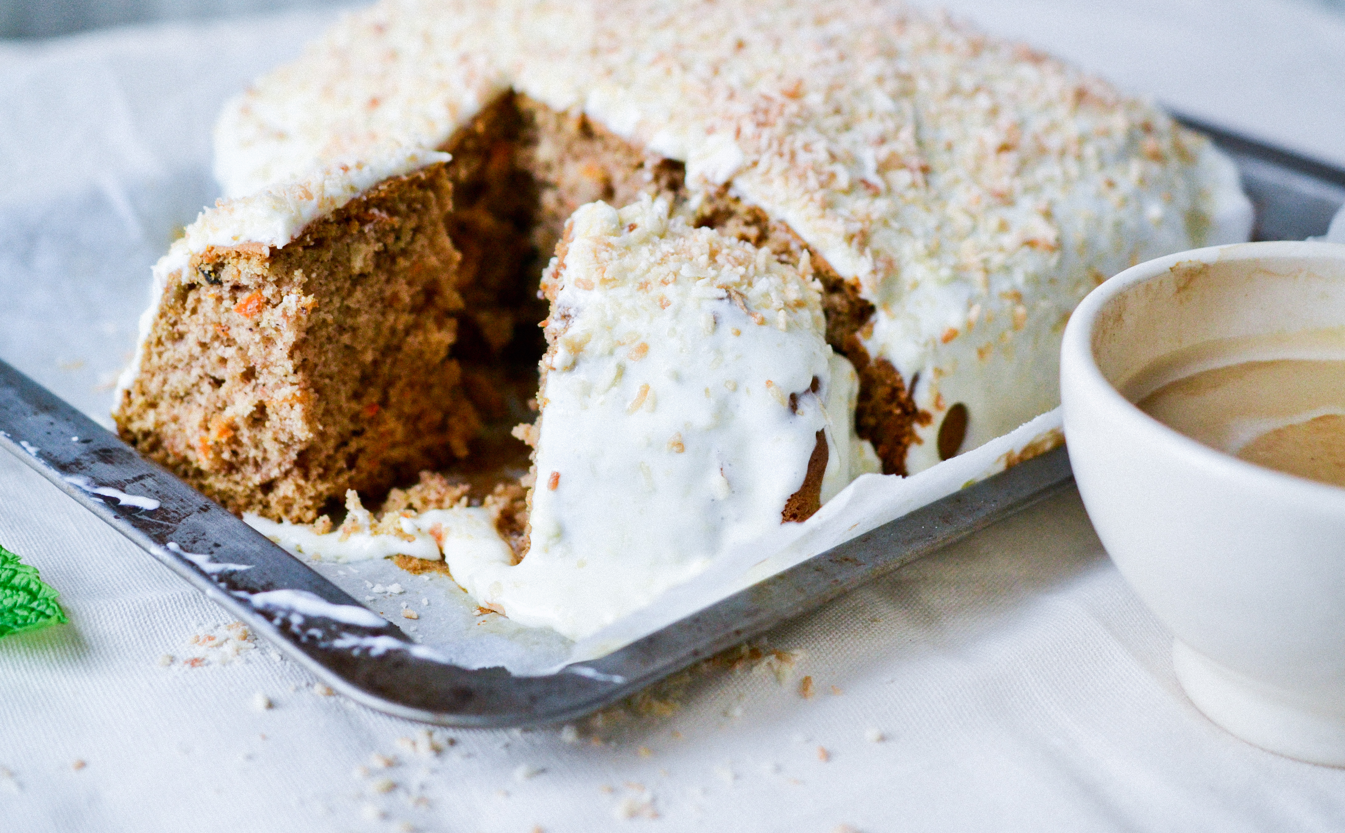 coconut carrot cake coconut carrot cake health inspirations 2989